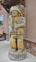 Image for White Mountain Trading Post Cigar Store Indian