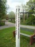 Image for The Thompson Park Zoo Peace Pole - Watertown, NY