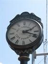 The Town Clock Close-up
