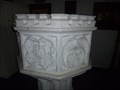 Image for Holy Trinity Church - Medieval Font - Caister on Sea - Norfolk, Great Britain.
