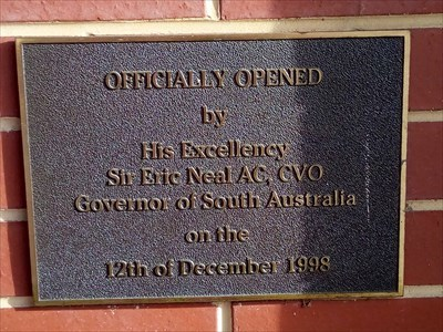 The Opening Plaque for the Co-op: 12/12/1998.
