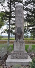 Image for Chief Ouray and Chipeta Memorial Obelisk ~ Montrose, Colorado