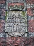 Image for Hamburg-Wappen am Hauptportal des ehemaligen Fernsprechamts Schlüterstraße - Hamburg, Germany