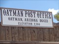 Image for Oatman Post Office ~ Arizona ~ 2700 Feet.