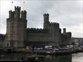 Image for Caernarfon Castle - Fortress - Wales, Great Britain.