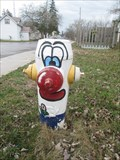 Image for Clown Fire Hydrant - Tweed, ON