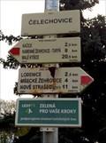 Image for Rozcestník turistických tras - Celechovice, CZ