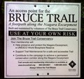 Image for Bruce Trail access point 3500 Walkers Line