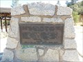 Image for Inaja Forest Firefighter Memorial - Santa Ysabel, CA
