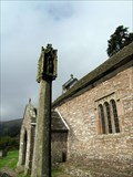 Image for Church of St Issui Churchyard Cross - Partrishow, The Vale of Grwyney, Powys, Wales