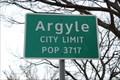 Image for Argyle, TX - Population 3717