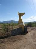 Image for Crashed Plane Mailbox - Sunsites, AZ