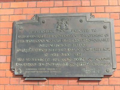 Pierhead Building - Historic Marker