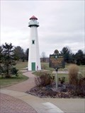 Image for Clare Welcome Center Lighthouse - Clare, MI