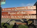 Image for Quesnel, BC - Home of the Rocky Mountaineer