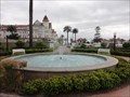 Image for Hotel del Coronado Fountain  -  Coronado, CA