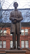 Image for George Grey Barnard Statue of Abraham Lincoln – Manchester, UK