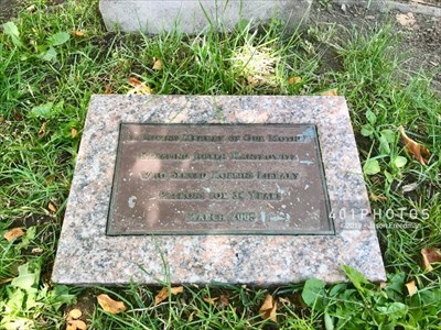 The dedication plaque reads: <br><br> IN LOVING MEMORY OF OUR MOTHER <BR> ROSALIND JOSEPH KANTROWITZ <BR> WHO SERVED ROBBINS LIBRARY <BR> PATRONS FOR 34 YEARS <BR> MARCH 2005