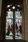 Image for Memorial Window to A.G.Berry and Mary his wife, St.Leonard's Church, Monyash, Derbyshire.