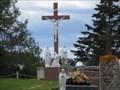 Image for Calvaire du cimetière de l'église Saint-Denis-de-la-Bouteillerie - Calvary of the cemetery of Saint-Denis-de-la-Bouteillerie, Saint-Denis-de-Kamouraska, Québec