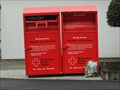 Image for Red Cross Clothes and Shoes Container - Bad Neuenahr-Ahrweiler- RLP / Germany