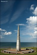 Image for 1st US infantry division Monument in Colleville-sur-Mer (Normandy, France)