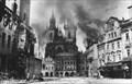Image for Týnský chrám horící (1945) - Praha, Ceská republika