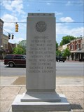 Image for Gordon County Veterans Memorial - Calhoun, GA