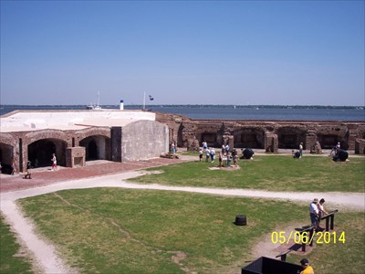Fort Sumter 8-inch Columbiad, by MountainWoods
