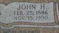 Image for 104 - John H. Mercer - Mustang Cemetery - Mustang, OK