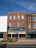 Image for American Shoe Store - Missouri State Capitol Historic District - Jefferson City, Missouri
