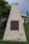 Image for Alexander Morris Cairn -- Hwy 25 at Hwy 75, Morris MB
