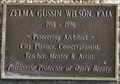 Image for Zelma Gussin Wilson, FAIA Memorial Tree