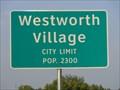 Image for Westworth Village - Population 2300