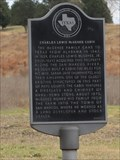 Image for El Camino Real -- McGeehee Cabin Historical Marker, Hays Co. TX