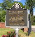 Image for Union Cemetery - Brewton, Alabama