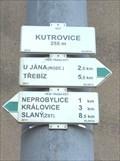 Image for Rozcestník turistických tras - Kutrovice, CZ