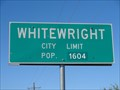 Image for Whitewright, TX - Population 1604
