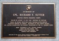 Image for In memory of Corporal Richard F. Sutter USMC – Atlanta, GA