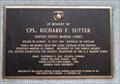 Image for In memory of Corporal Richard F. Sutter USMC – Atlanta, GA