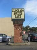 Image for El Dorado Savings Bank Time and Temperature - Jackson, CA