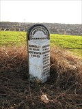 Image for B6090 Wentworth Road Milestone, Rotherham