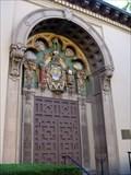 Image for Tympanum Doorway to Santa Barbara Public Libarary, CA