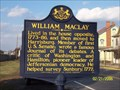 Image for William Maclay