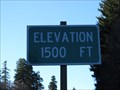 Image for Highway 26 Westbound - Timber Oregon - 1500'