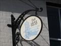 Image for Established 1855 Sign - Castle Street, Christchurch, Hampshire, UK