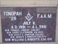 Image for Tonopah - Nevada Masonic Lodge #28