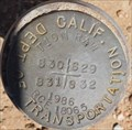 Image for CALTRANS T10N R4W S30 S29 S31 S32 RCE 18065 Mark - Hinkley, CA
