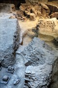 Image for Roman Bath House - Ruin - Chichester, Sussex, UK.