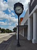 Image for First National Bank Clock - Valley Mills, TX